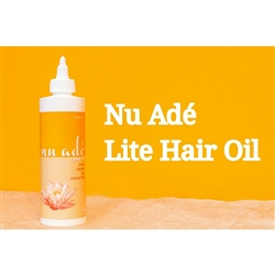 Nu Ade Lite Hair Oil -8oz